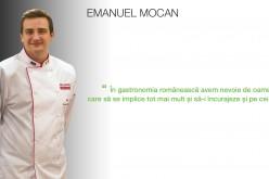 INTERVIU: Povestea de succes a tânărului chef dejean Emanuel Mocan. De la gătit… la artă