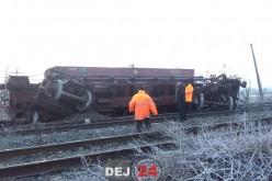 După două zile, circulația feroviară între Dej și Jibou se redeschide