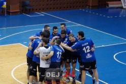 VOLEI – Unirea Dej a pierdut, scor 0-3, primul meci de la Caransebeș