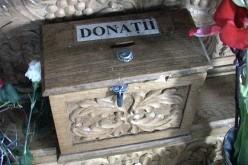 Fără niciun Dumnezeu. A vrut să fure banii din cutia milei, dintr-o biserică din Nicula
