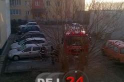 Femeie blocată în locuință, în Dej. Pompierii au intrat pe geam – FOTO
