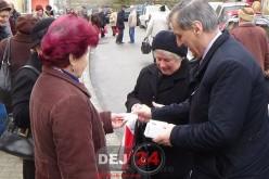 Primarul Morar Costan le-a făcut ziua mai frumoasă femeilor din Dej – FOTO