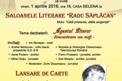 Lansare de carte, vineri, la Dej. Radu Săplăcan – Evocări și radiografii