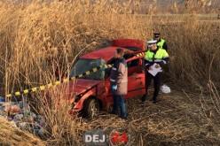 GRAV ACCIDENT la Fizeșu Gherlii. Două persoane au fost rănite – FOTO/VIDEO