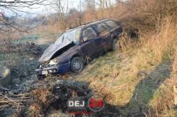 ACCIDENT cu patru victime la Dej. Au ajuns la spital după ce au plonjat cu autoturismul într-o râpă – FOTO/VIDEO