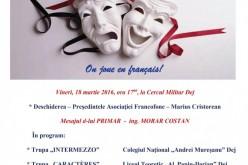 Ziua Internațională a Francofoniei, vineri, la Dej