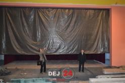 """Centrul Cultural """"Arta"""" din Dej, în plin proces de modernizare – FOTO"""