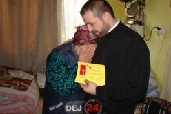 Femeile nevoiașe din Dej au primit ieri mărțișoare, în cadrul unei acțiuni filantropice – FOTO