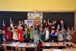 """Rotary Club Dej a demarat proiectul """"Dinți frumoși, copii sănătoși"""" – FOTO"""