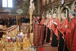 """Taina Sfântului Maslu la Parohia """"Adormirea Maicii Domnului"""" Dej – FOTO"""