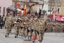 Dej | Ceremonia de întoarcere a militarilor români din Afganistan – GALERIE FOTO/VIDEO