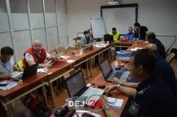 Exercițiu internațional de protecție civilă desfășurat la Cluj-Napoca – FOTO