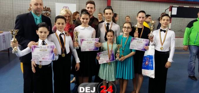 """Clubul de dans sportiv """"Latino Angels"""" Dej, start cu dreptul în noul sezon competițional – FOTO"""