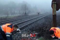 Bărbat MORT, după ce a fost LOVIT DE TREN, la ieșire din Câțcău – FOTO/VIDEO