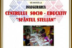 """Se inaugurează Centrul Socio-Educativ """"Sfântul Stelian"""" de la Gherla. Va fi prezent și ÎPS Andrei"""