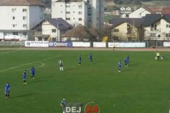 Încă un punct pentru FC Unirea Dej. 0-0 cu Zalău, al patrulea meci fără înfrângere – FOTO