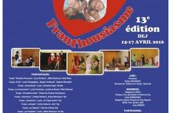 """Începe o nouă ediție a festivalului """"Franthousiasme"""" la Dej"""