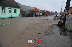 COD GALBEN de INUNDAȚII pe mai multe râuri din județul Cluj!