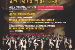 Manifestări culturale la Orman, în a doua zi de Paști