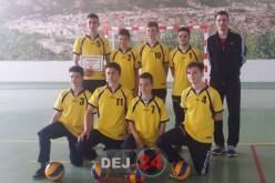 LAPI Dej, calificată în finala Olimpiadei Gimnaziilor la volei masculin