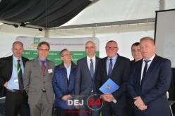 Marius Mînzat a participat ieri la deschiderea târgului AGRARIA – FOTO