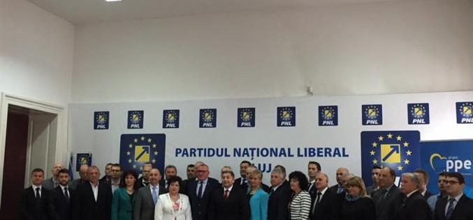 PNL și-a depus lista de candidați pentru CJ Cluj. Mai mulți dejeni vor să facă parte din forul județean – FOTO