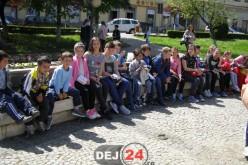 """""""Să descoperim un colț de țară"""", cu elevi din Sălaj, la Şcoala Gimnazială """"Avram Iancu"""" Dej – FOTO"""