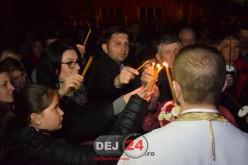 Sfânta Lumină de la Ierusalim va ajunge și la Dej, înainte de miezul nopții