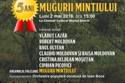 Spectacol folcloric la Mintiu Gherlii, în a doua zi de Paști