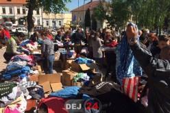 A debutat o nouă ediție a Târgului Elpis la Dej. Zeci de persoane sunt prezente în Parcul Mic – FOTO/VIDEO