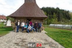 """Participanți la festivalul """"Franthousiasme"""", în vizită la Chiuiești – FOTO"""