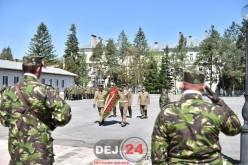 Ziua Forțelor Terestre, marcată în Garnizoana Dej – GALERIE FOTO