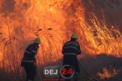INCENDIU PUTERNIC în Urișor. Au intervenit pompierii din Dej – FOTO/VIDEO