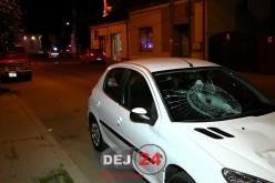 ACCIDENT în Dej. O tânără a ajuns la spital după ce a fost izbită de un autoturism – FOTO