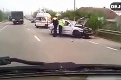 Băutura, bat-o vina! Un șofer din Dej a provocat un accident rutier în Nima – FOTO/VIDEO