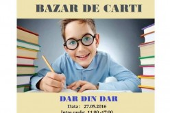 """""""Bazar din dar"""", din nou la Dej, în sprijinul copiilor cu dizabilități"""