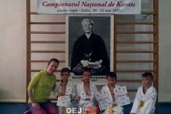 Noi medalii obținute de Clubului Sportiv Dinamic Dojo Dej – FOTO