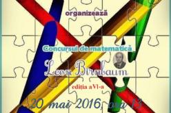 """Concursul de matematică """"Leon Birnbaum"""", în curând, la Dej"""