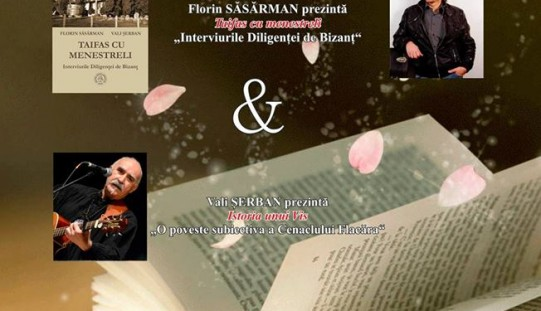 Lansare de carte și recital folk, joi, la Dej