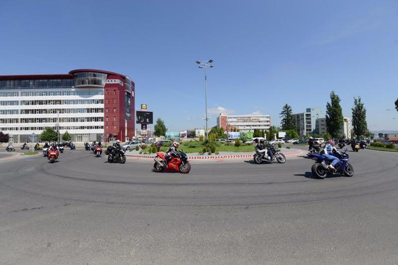 Motocicleta mocociclisti Cluj Bike Fest parada