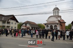 Dej | Noua biserică de pe strada Crângului și-a deschis porțile pentru credincioși – FOTO/VIDEO