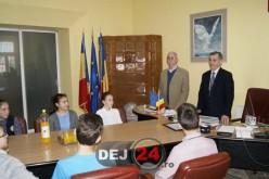 """Trupa de teatru francofon """"Arlequin"""" din Dej s-a întâlnit ieri cu primarul Morar Costan – FOTO"""