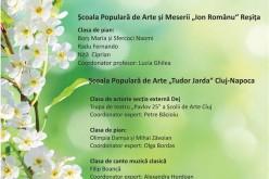 """Trupa de teatru """"Vistrian Roman"""" din Dej, spectacol la Oravița"""