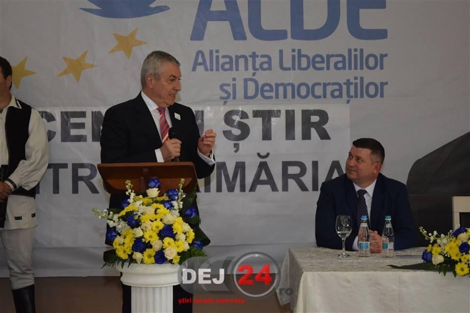 Vicentiu Stir ALDE lansare Primaria Dej Calin Popescu Tariceanu