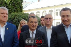 Victor Ponta a venit la Dej și le-a urat succes social-democraților – FOTO/VIDEO (E)