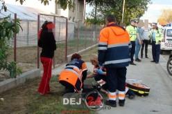 ACCIDENT în Cuzdrioara. Fetiță de 12 ani, rănită de un șofer neatent – FOTO/VIDEO
