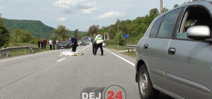 GRAV ACCIDENT în județul Cluj! Femeie DECEDATĂ după ce a fost lovită de o mașină. Șoferul a fugit