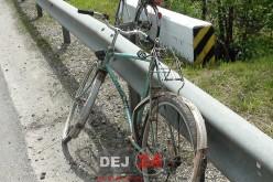 Impact între biciclete la Gherla. Un bărbat, în vârstă de 74 de ani, a ajuns la spital