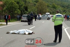 O nouă tragedie lângă Dej, de Paști. Un biciclist A MURIT lovit de mașină – FOTO/VIDEO