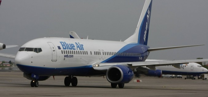 Blue Air a inaugurat o nouă rută: CLUJ-NAPOCA – BIRMINGHAM